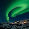12. Northern Lights over Vestervika<br /> 60x40cm, numbered prints 1 - 100<br /> Price mounted NOK 2900