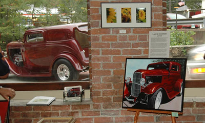 More of the opening at Galleria Vivace in Stafford Springs.