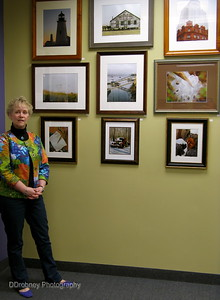 Some of my favorites at the exhibit opening - Galleria Vivace in Rocky Hill, CT.
