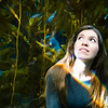 Portrait in front of the Kelp Forest, Monterey Bay Aquarium