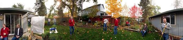 """Work Crew"", my back yard."