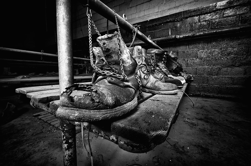 Coal Breaker Boots  © Scott Frederick Photography : All Rights Reserved