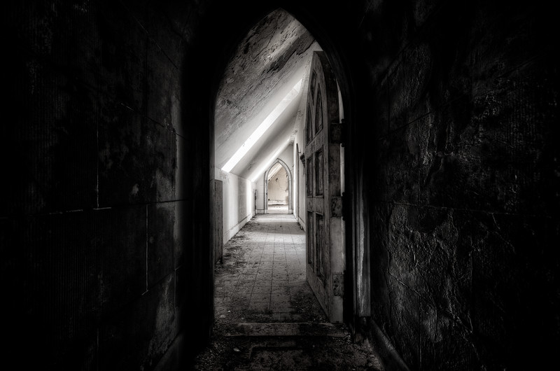 Dark Passage  © Scott Frederick Photography : All Rights Reserved
