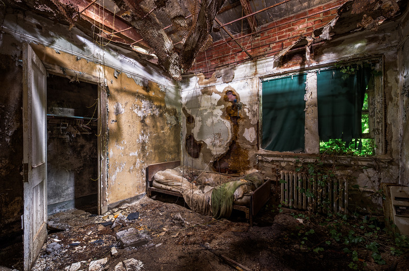 Eternal Sleep (Abandoned Hospital)  © Scott Frederick Photography