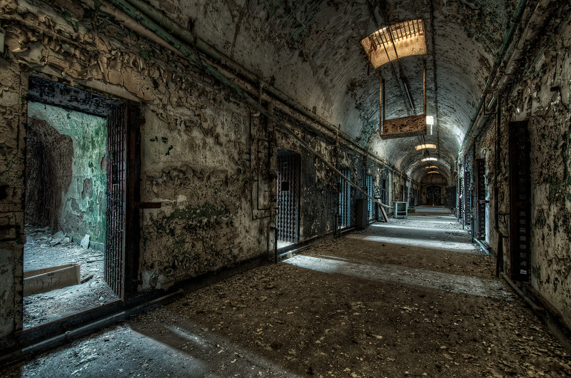 Convicted - Holmesburg Prison w/ permission  © Scott Frederick Photography : All Rights Reserved