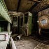 Drink & Fold (Abandoned Prison) <br> © Scott Frederick Photography
