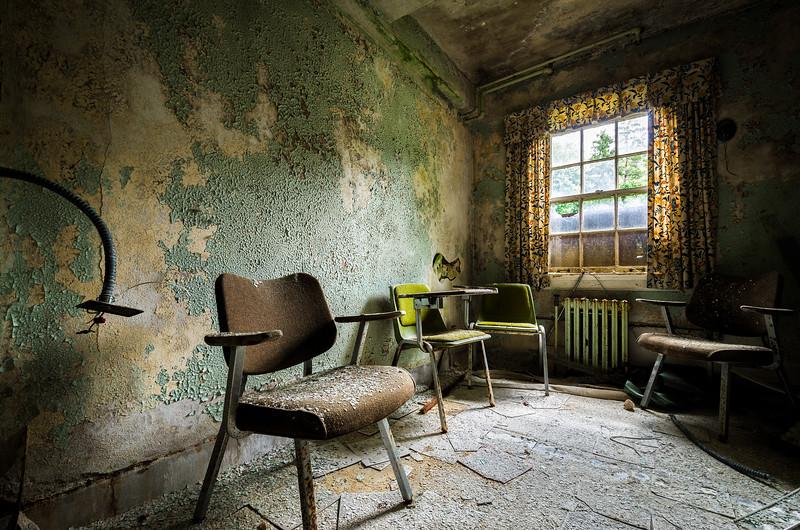 Gathering (Abandoned Hospital)  © Scott Frederick Photography