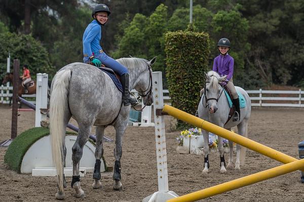 Eynon Girls and Their Horses