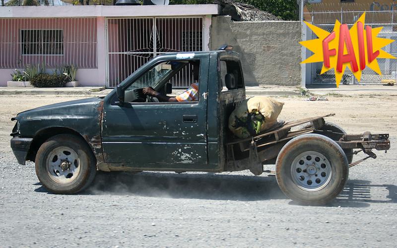 Car modification fail