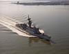USS Truett (FF-1095)<br /> <br /> Date: April 2 1984<br /> Location: Hampton Roads VA (just off Ft. Monroe and Hotel Chamberlin)<br /> Source: Nobe Smith - Atlantic Fleet Sales