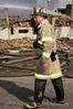 Special Operations Chief Mike Fox at Building explosion on Chicago's West Side 3/10/06.