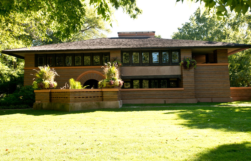 North America, USA, Illinois, Oak Park,Arthur Heurtley House