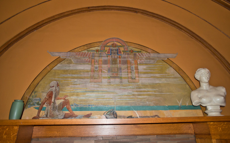 North America, USA, Illinois, Oak Park, Frank Lloyd Wright, Home and Studio, 951 Chicago Avenue, Children's Playroom