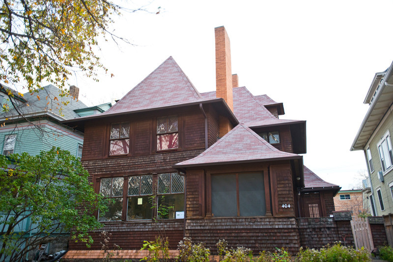 North America, USA, Illinois, Oak Park, Frank Lloyd Wright Designed Home, George W. Smith
