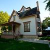 North America, USA, Illinois, Oak Park, Blair House, Home of Celebrated Landscaper, John Blair
