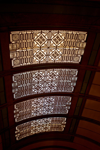North America, USA, Illinois, Oak Park, Frank Lloyd Wright, Home and Studio, 951 Chicago Avenue, Children's Playroom Skylight