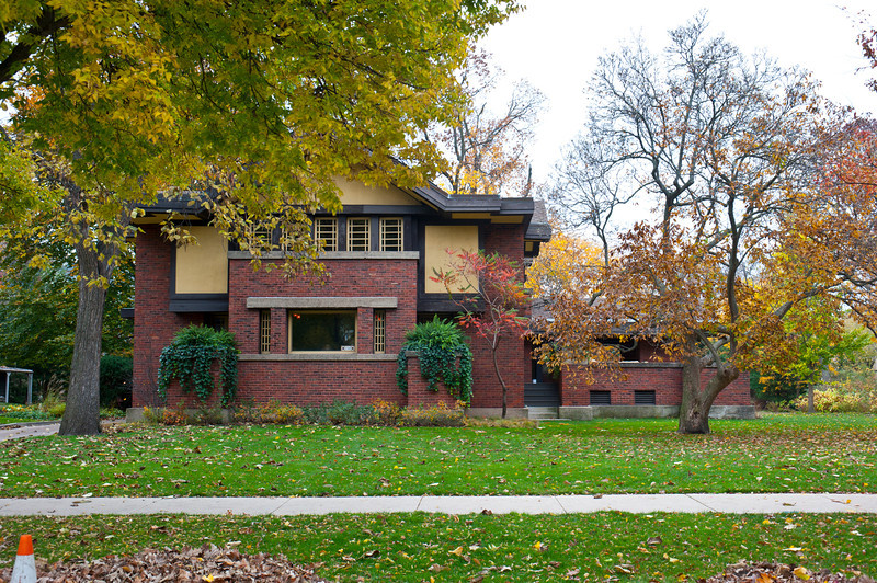 North America, USA, Illinois, Oak Park, Frank Lloyd Wright, Peter A. Beachy House, 238 Forest Avenue