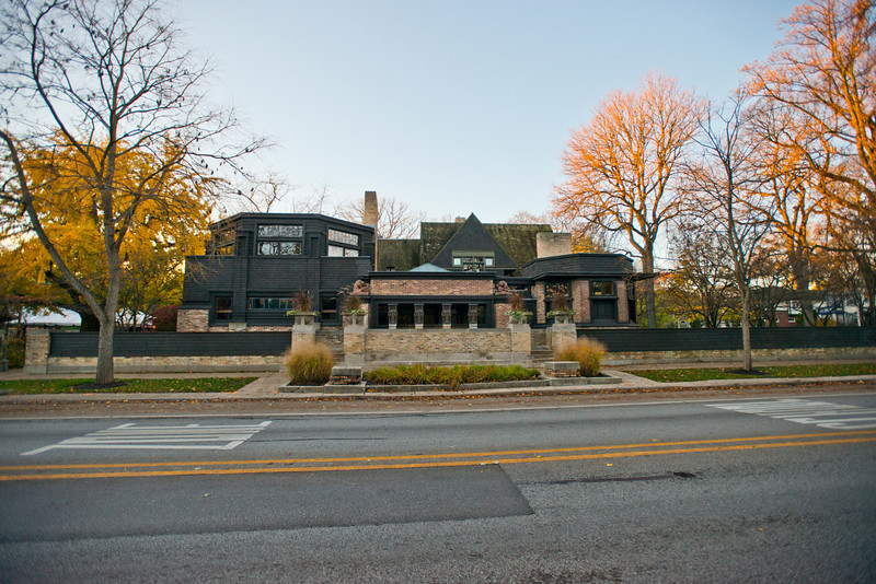 North America, USA, Illinois, Oak Park, Frank Lloyd Wright, Home and Studio, 951 Chicago Avenue