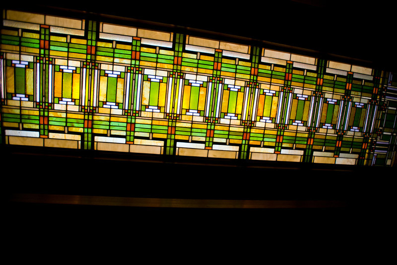 North America, USA, Illinois, Oak Park, Frank Lloyd Wright, Home and Studio, 951 Chicago Avenue, Studio Wright's Drafting Room Skylight