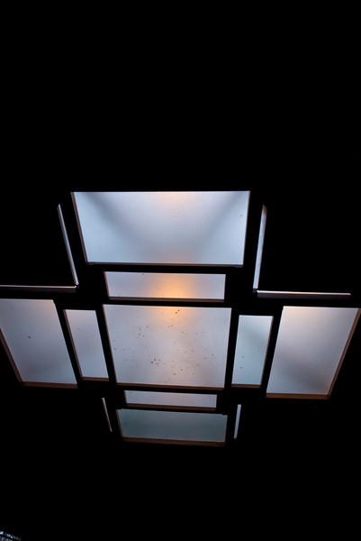 North America, USA, Illinois, Oak Park, Frank Lloyd Wright, Home and Studio, 951 Chicago Avenue, Studio Wright's Reception and Meeting Room Skylight
