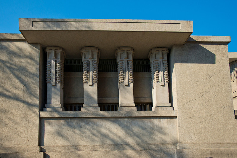 North America, USA, Illinois, Oak Park, Frank Lloyd Wright, Unity Temple, Built in 1906