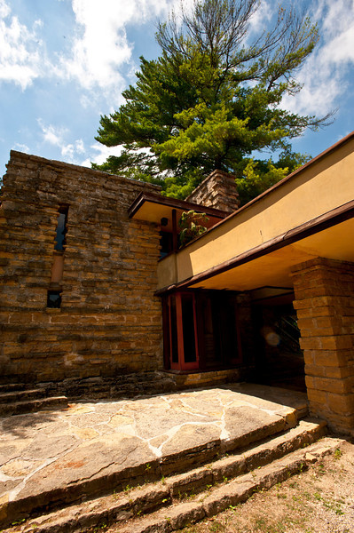 USA, Wisconsin, Spring Green. Frank Lloyd Wright, Taliesin, His Private Residence