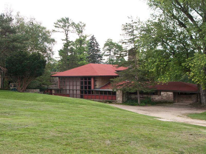 USA, Wisconsin, Spring Green, Frank Lloyd Wright compound, Taliesin, Hillside Theatre