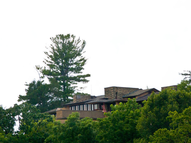 USA, Wisconsin, Spring Green, Frank Lloyd Wright compound, Taliesin, Private Residence