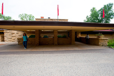North America, USA, Wisconsin, Spring Green, Taliesin Visitor Center and Gift Shop
