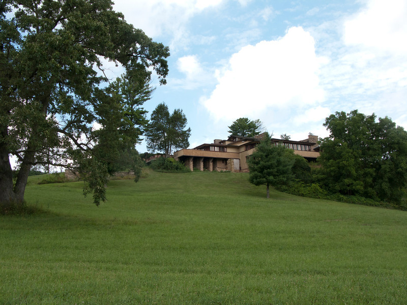 USA, Wisconsin, Spring Green, Frank Lloyd Wright compound, Taliesin Private Residence