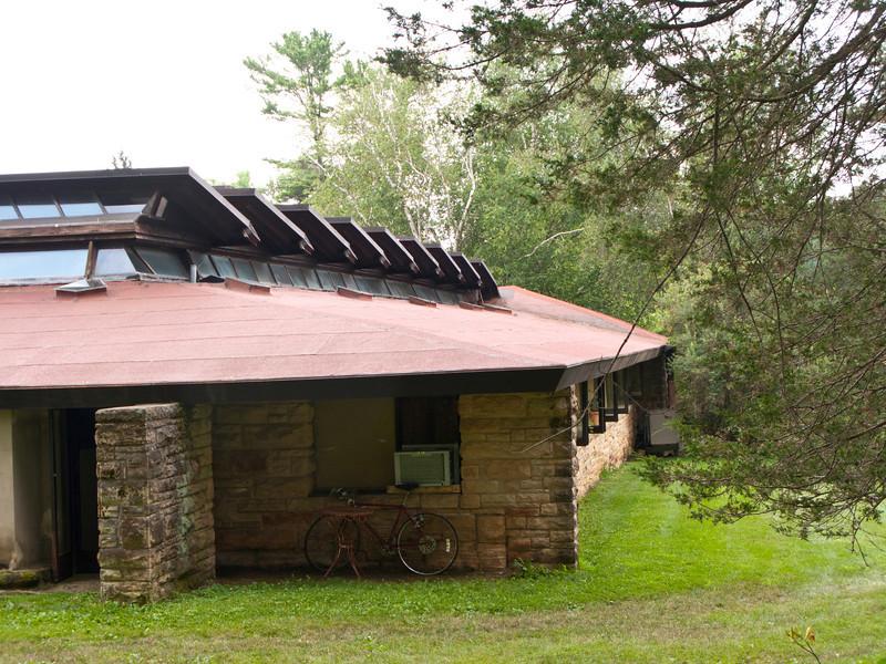USA, Wisconsin, Spring Green, Frank Lloyd Wright compound, Taliesin Hillside School