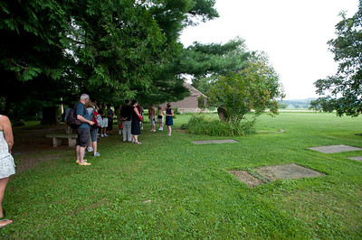 USA, Wisconsin, Spring Green, Frank Lloyd Wright compound, Taliesin, Unity Chapel Cemetery