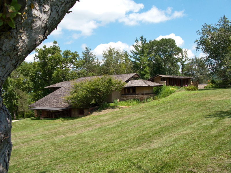 USA, Wisconsin, Spring Green, Frank Lloyd Wright compound, Taliesin