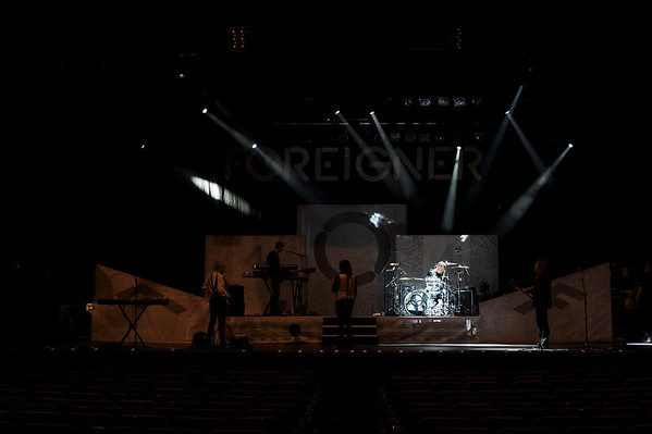 FOREIGNER Sound Check