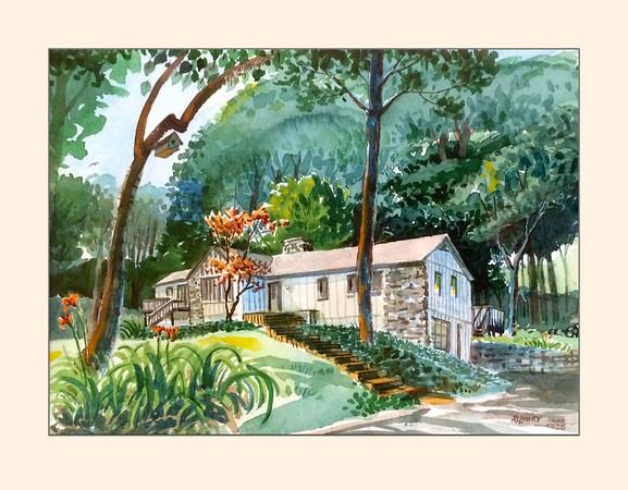 Chris&Maria Woodland Home