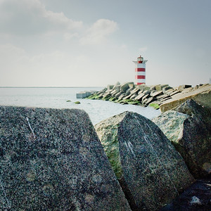 Lighthouse  IJmuiden The Netherlands