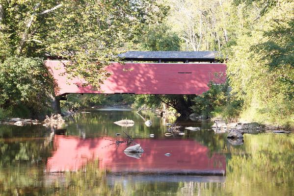 Fairhill Red Covered Bridge