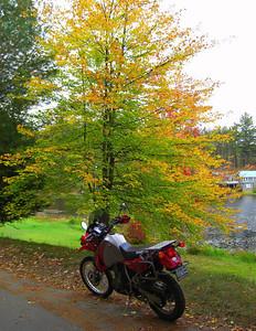Turtle Pond Dr  Saranac Lake, village, sep 30, 2008 CIMG2825