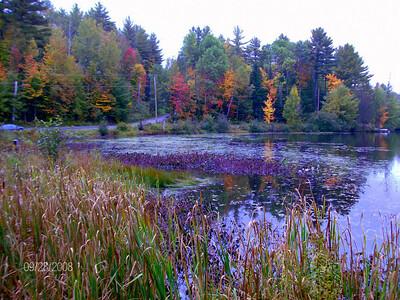 Moody Pond, in the village of Saranac Lake, sep 28, 2008 HPIM0104-1