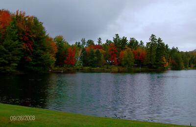 Moody Pond, in the village of Saranac Lake, sep 28, 2008 HPIM0111-1