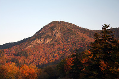 Early morning light on Potato Knob at the south end of the Black Mts