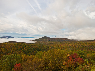 View from Bear Den overlook, BRP