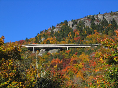 Linn Cove Viaduct from Highway 221