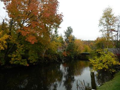 Saranac River, oct 4, 2012