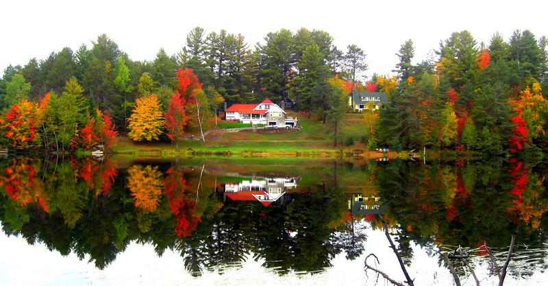 Turtle Pond, Saranac Lake, NY oct 2, 2012 CIMG7454a