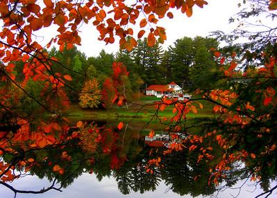 Turtle Pond, Saranac Lake, NY oct 2, 2012 CIMG7455a
