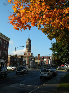 Downtown, late afternoon, oct 4, 2012