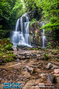 Bad Branch Falls of Rabun County, GA