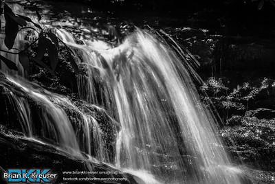Becky Branch Falls of Rabun County