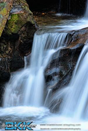 Duke and Davis Creek Falls
